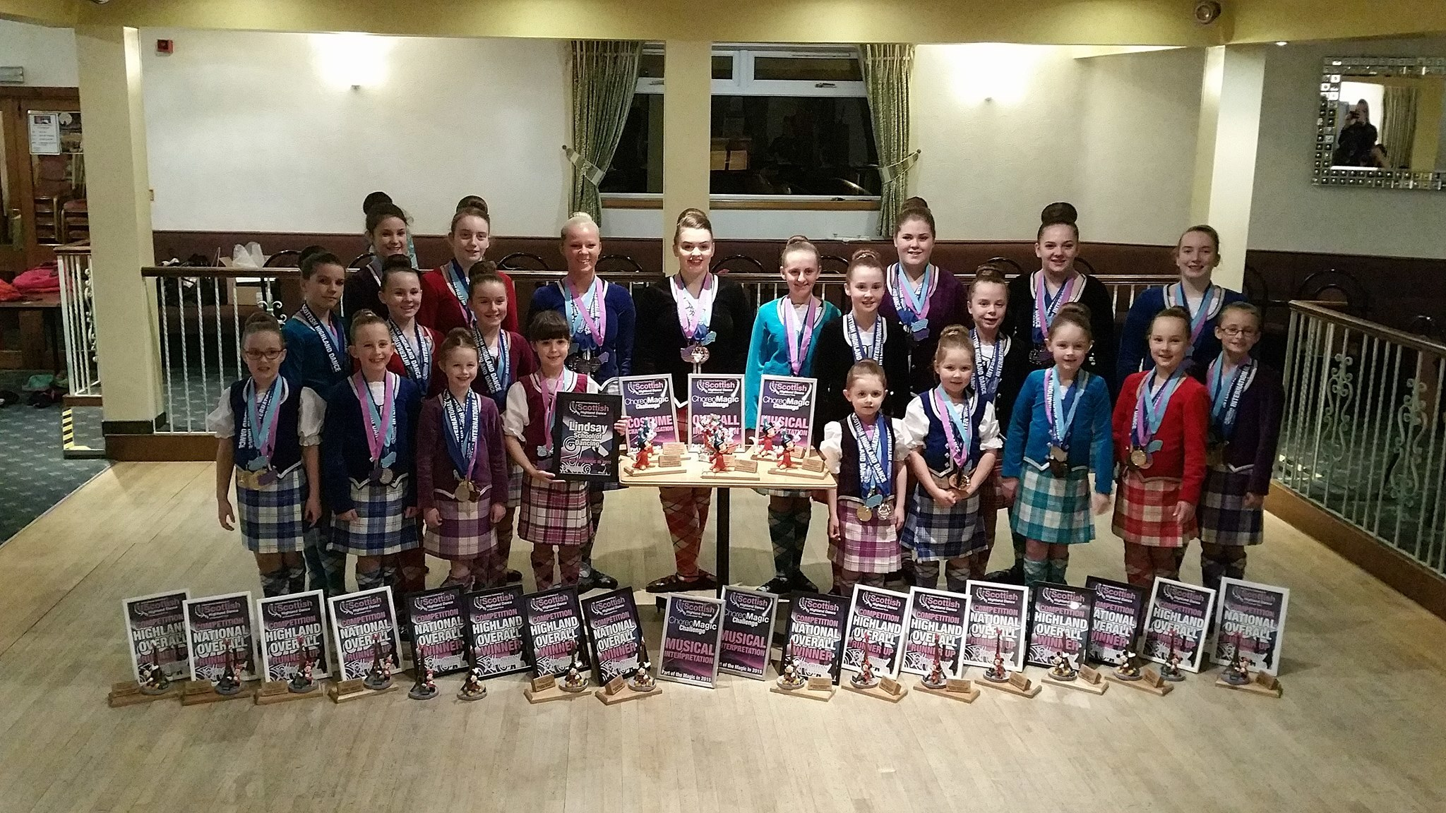The performers from the Lindsay School of Dance - which is bases in both Stonehaven and Laurencekirk - flew out to Disneyland Paris just days after the Paris Attacks.