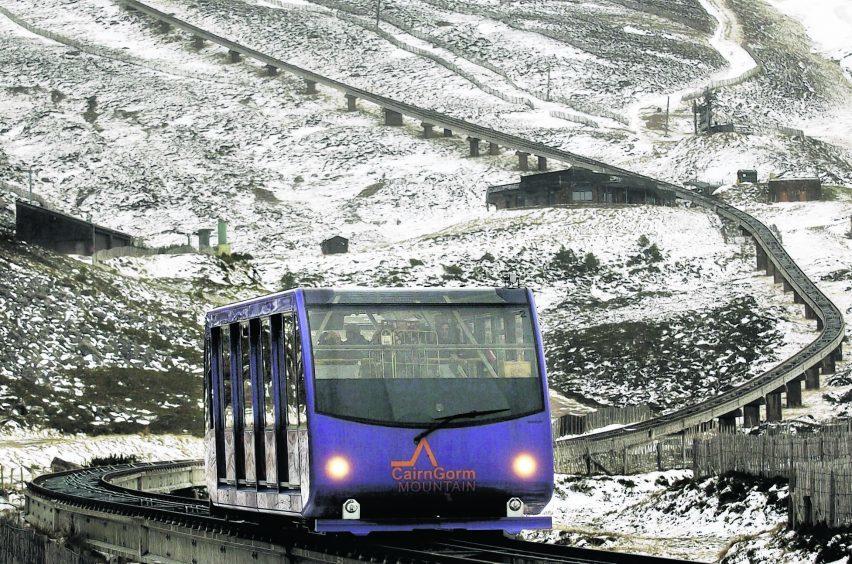 CairnGorm, Scotland's only mountain railway