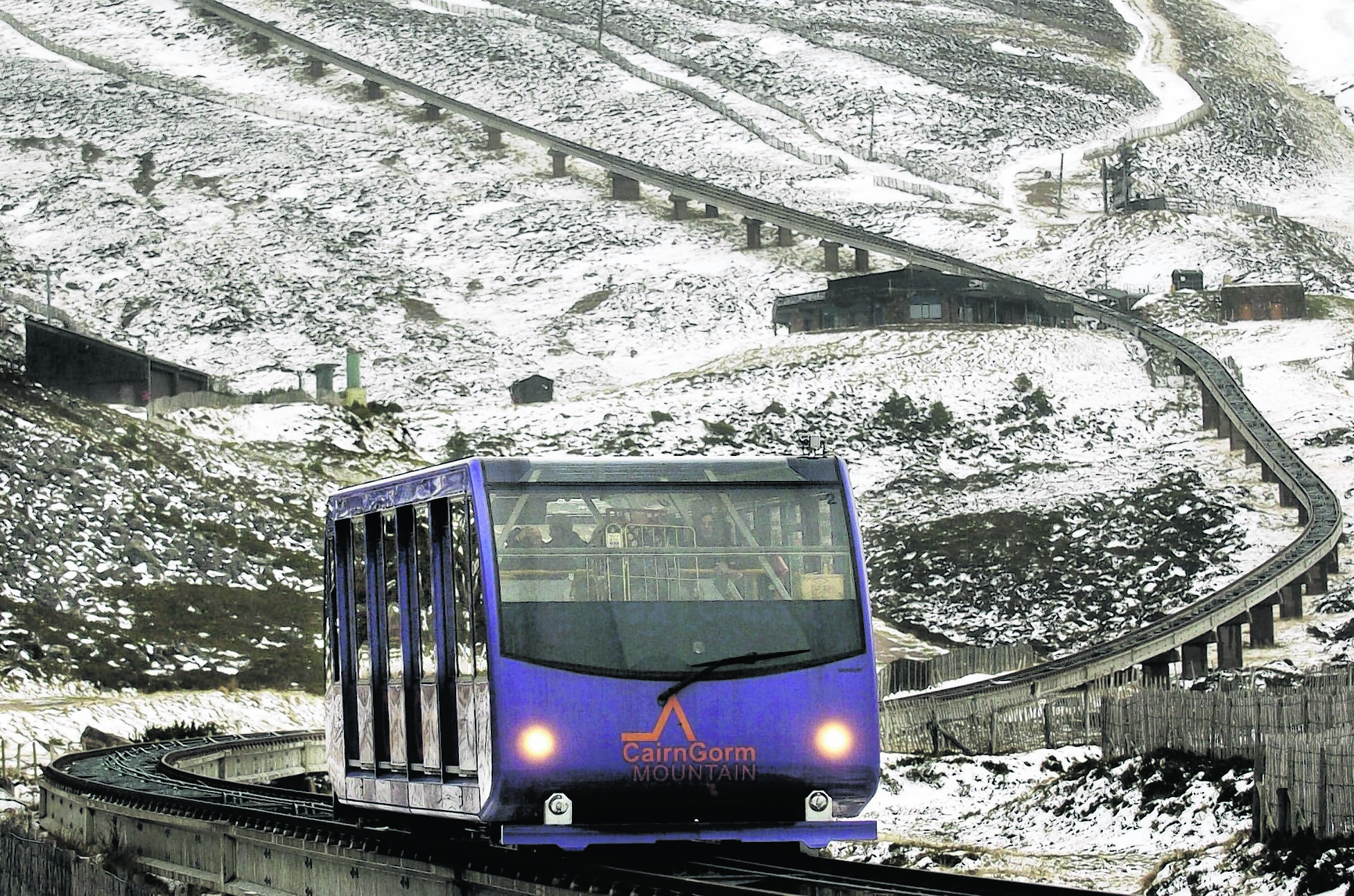 CairnGorm, Scotland's only mountain railway