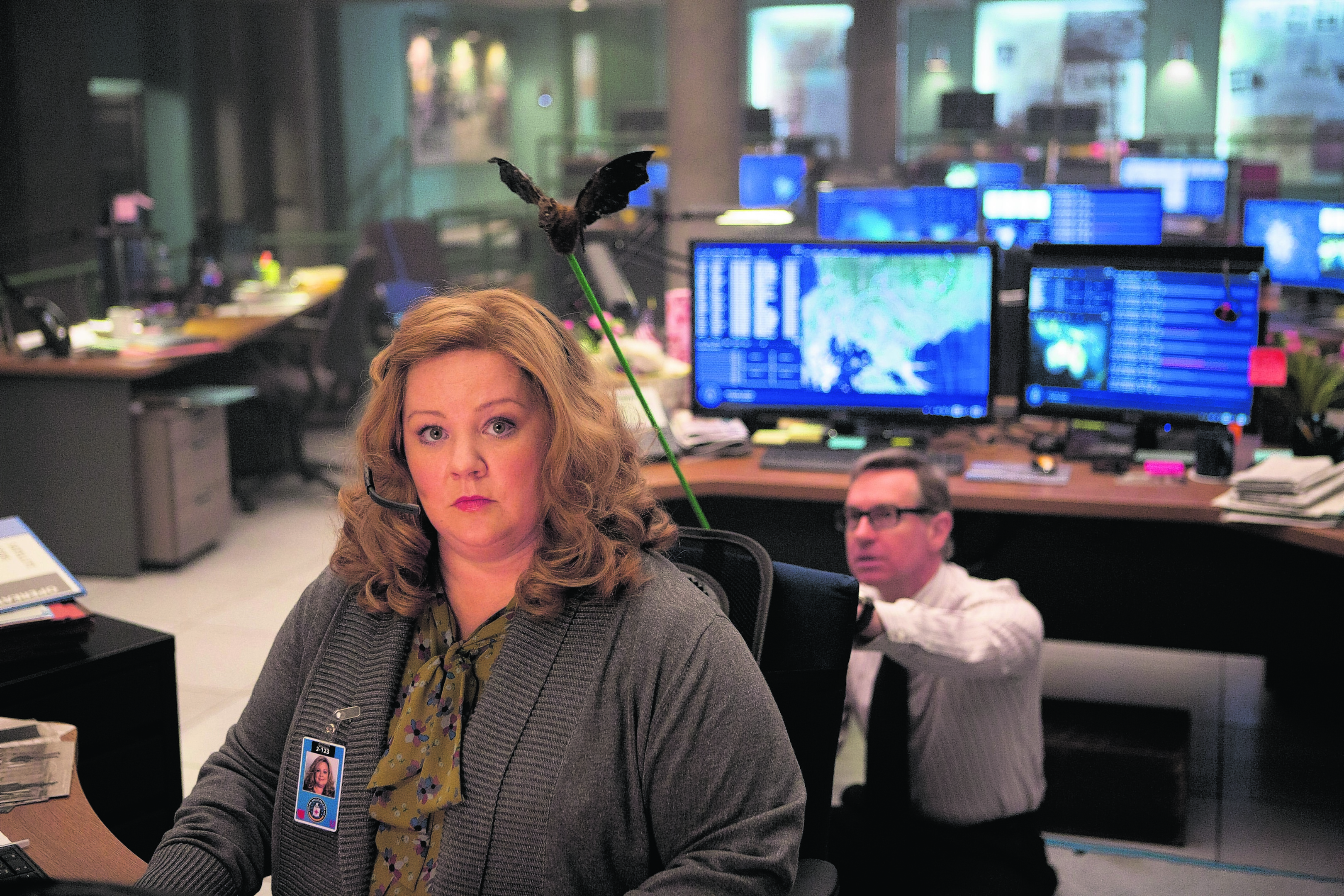 Melissa McCarthy as analyst Susan Cooper in Spy