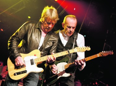 Rick and his old partner in crime Francis Rossi
