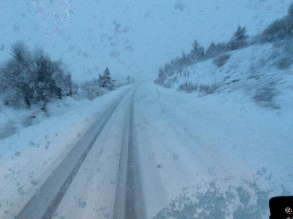 Snow on the roads