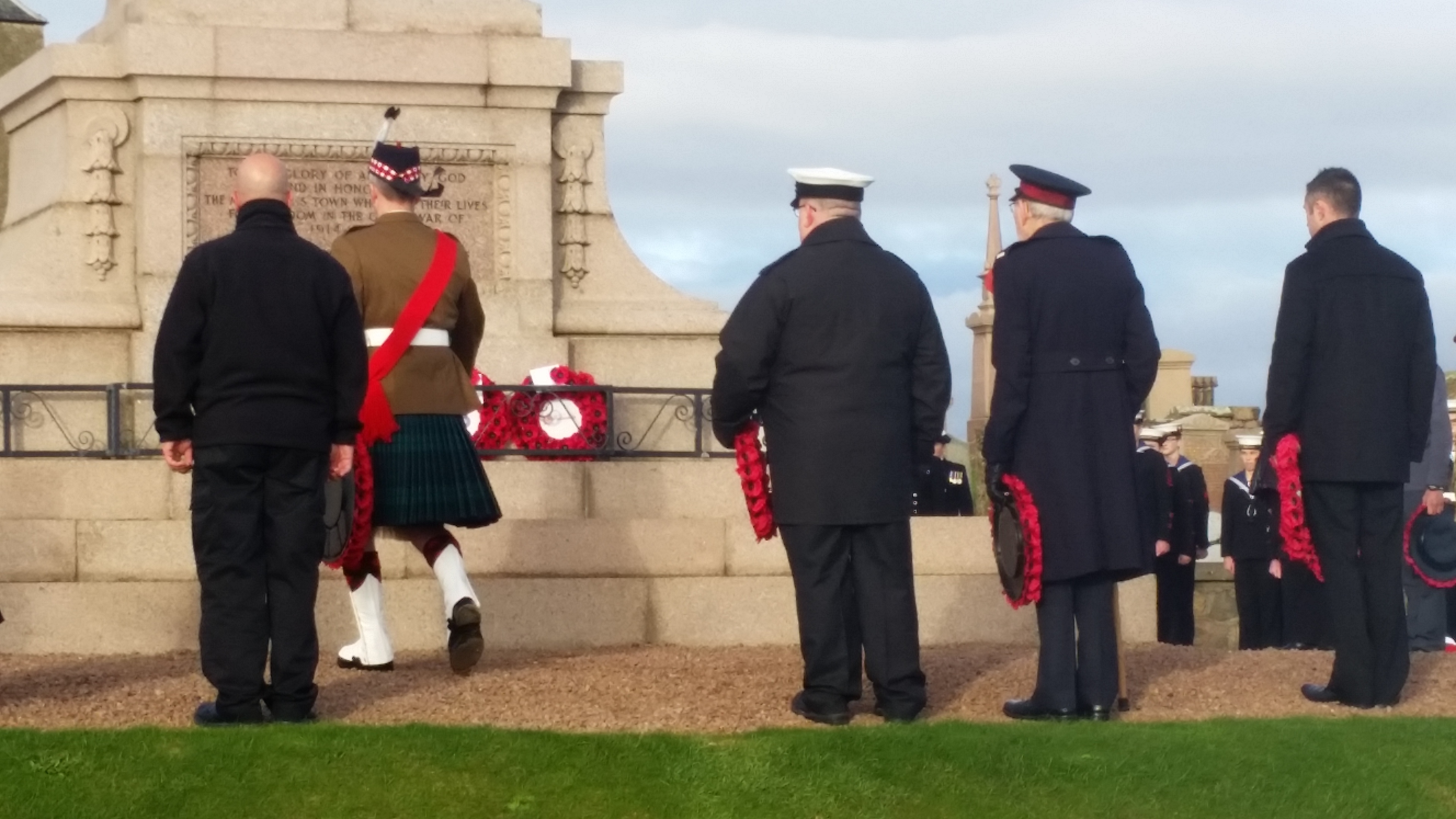 Remembrance Sunday in 2015