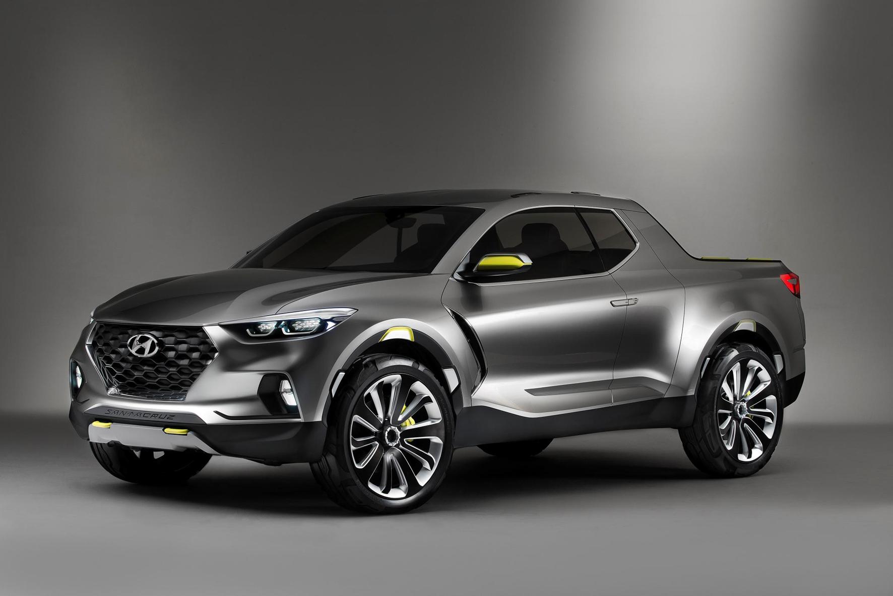 2015 Hyundai Santa Cruz concept (Detroit, North American International Auto Show)