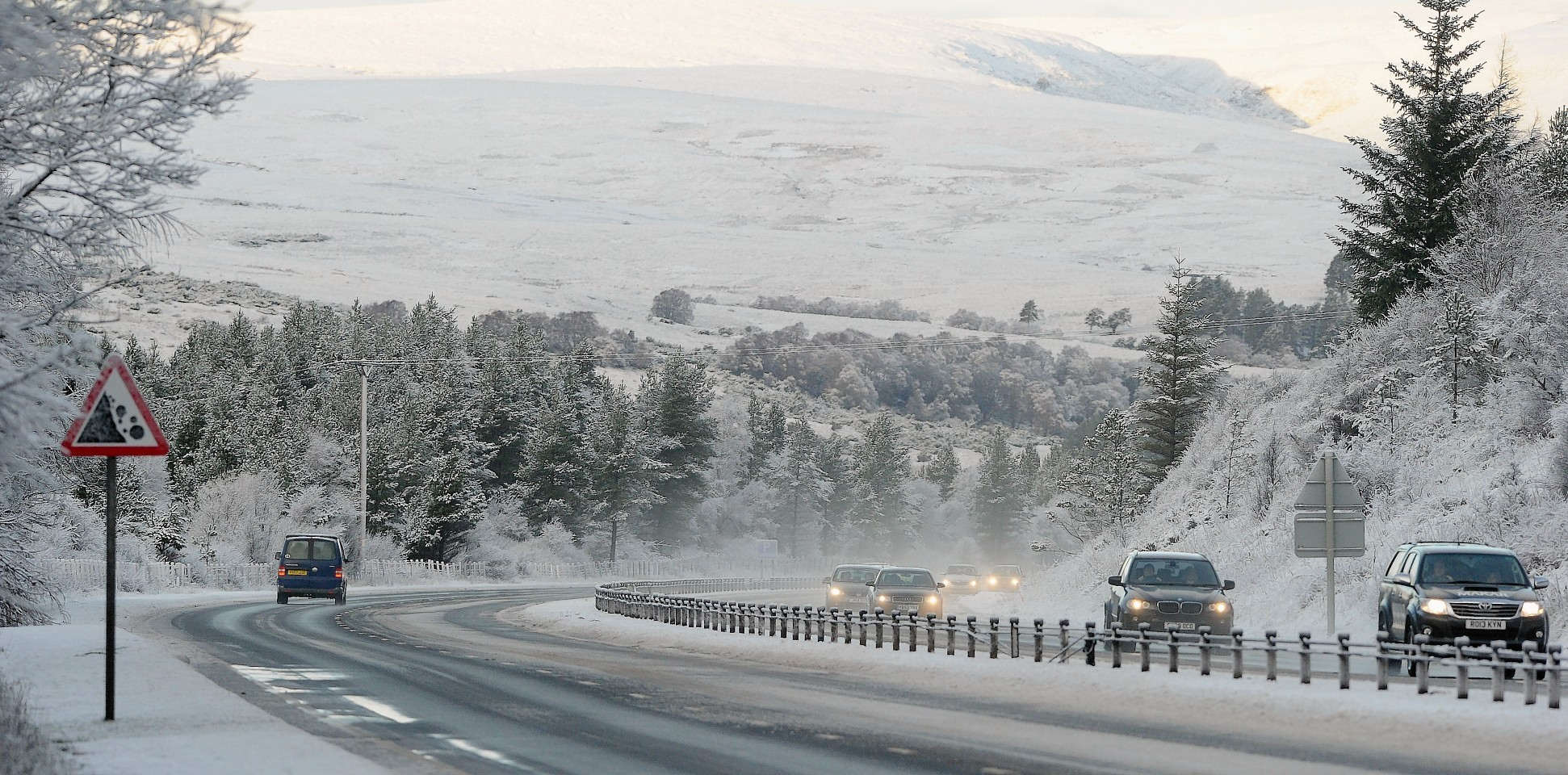 The Met Office are warning of snow later this week