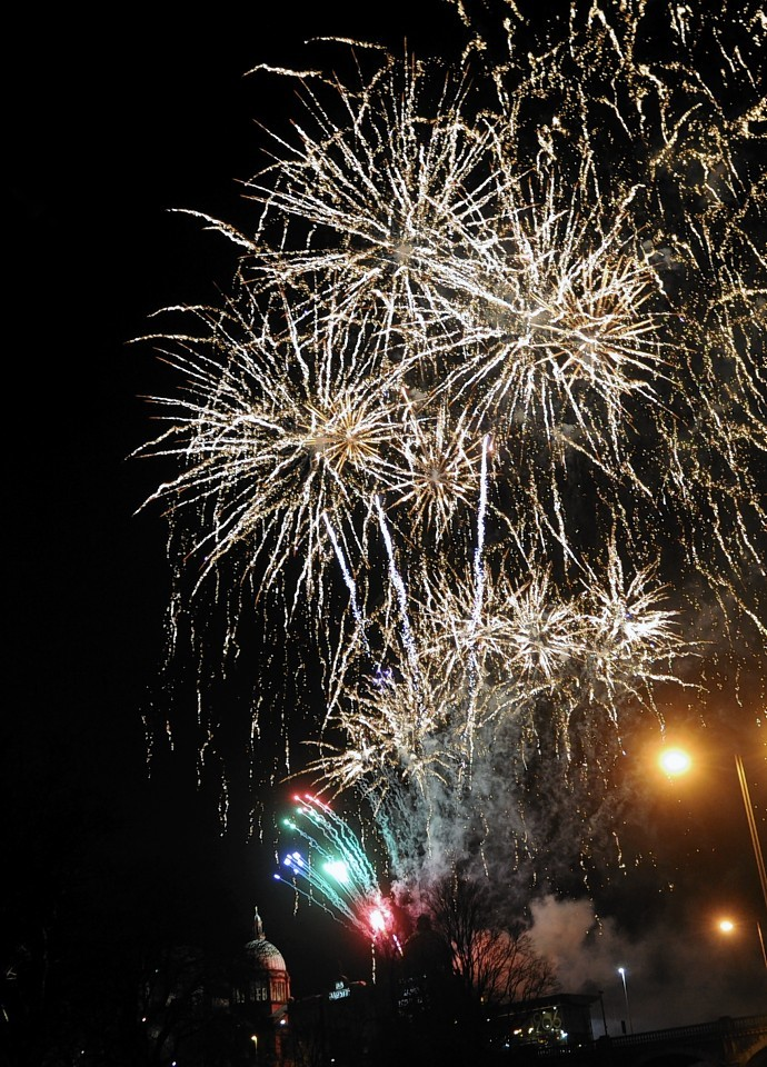 Aberdeen Hogmanay fireworks