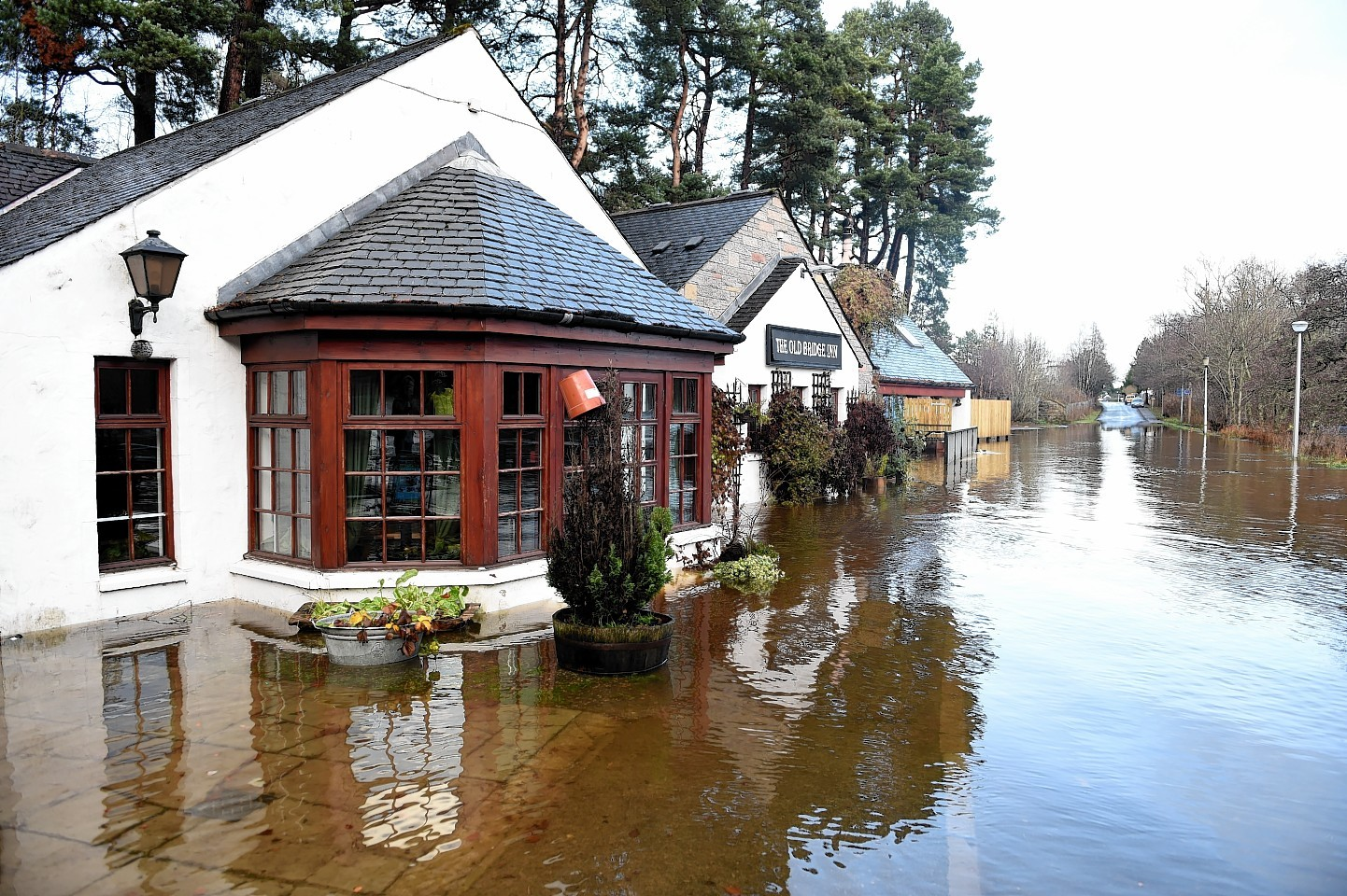 Flooding in Aviemore