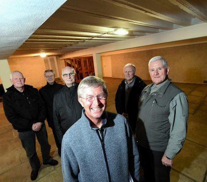 Howard Mallen, Bill Byth, Fred Harrott, Alan Pumfrey, Alan Kelman and Dave Thomson. Picture by Kami Thomson