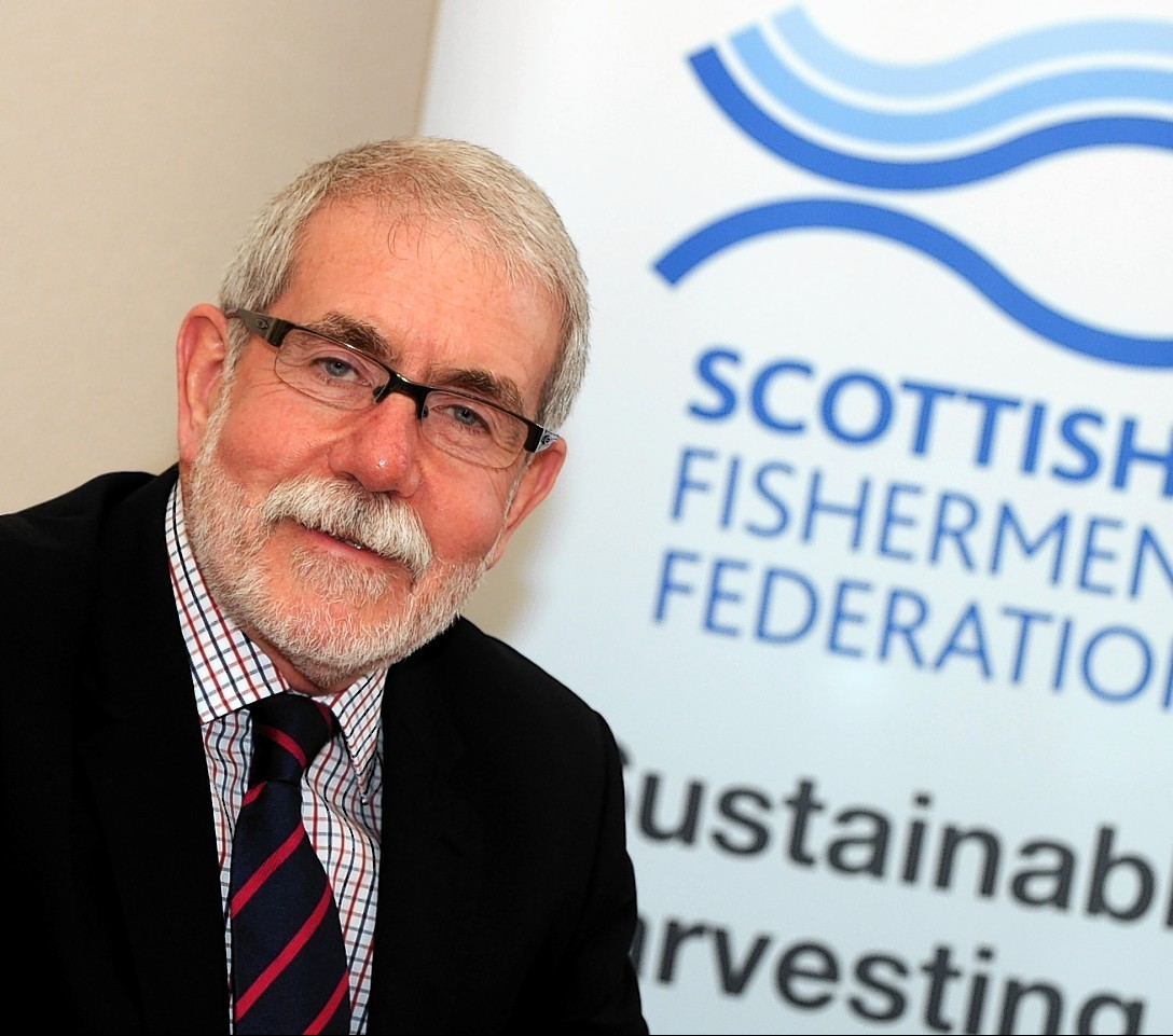 Bertie Armstrong of the Scottish Fishermen's Federation
