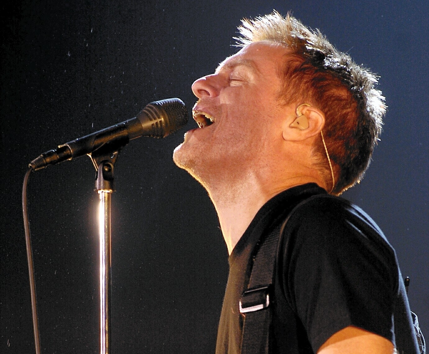 Bryan Adams performs live at AECC back in Autumn of 2004