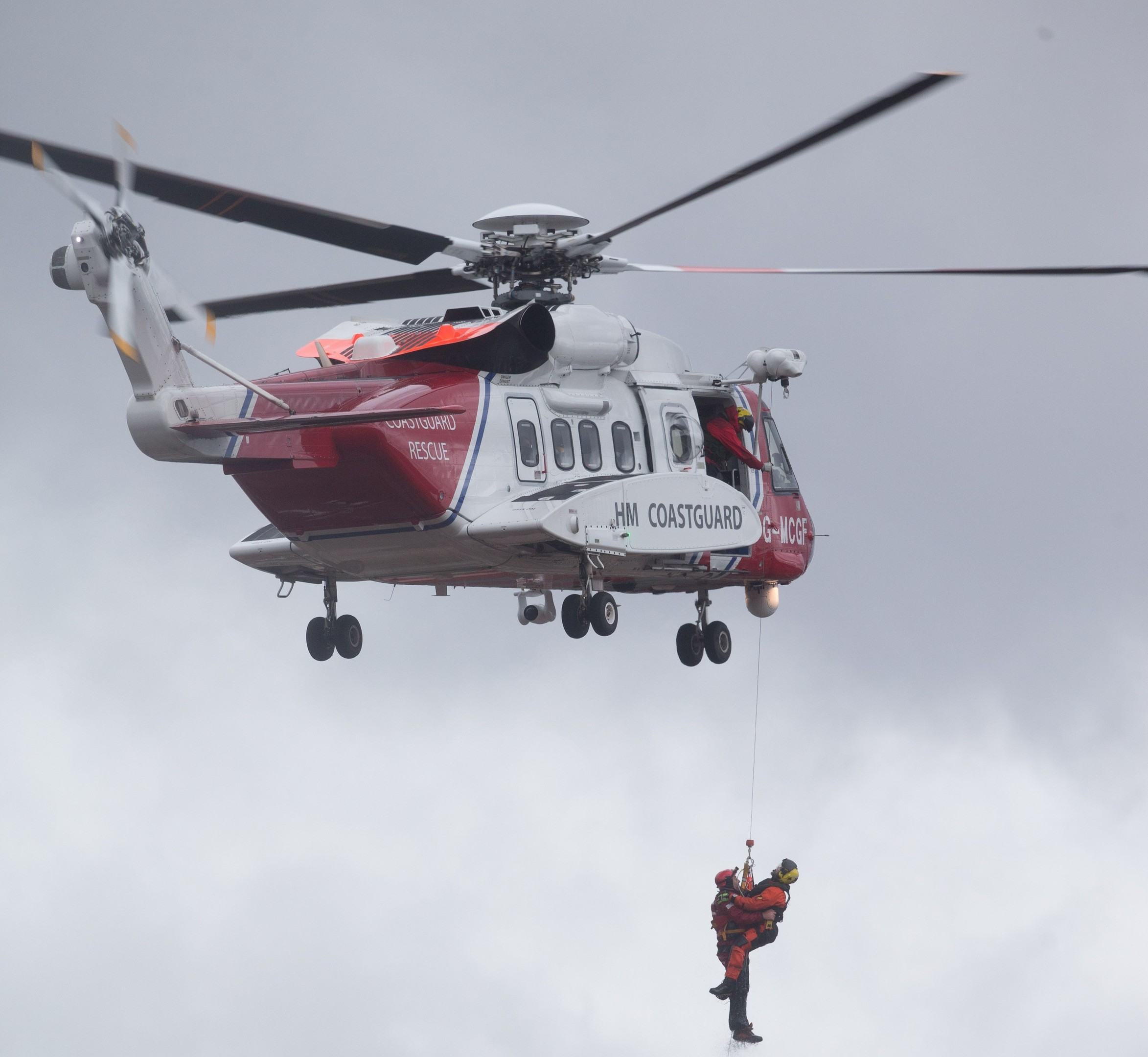 Coastguard in action in Aberdeenshire for Storm Frank