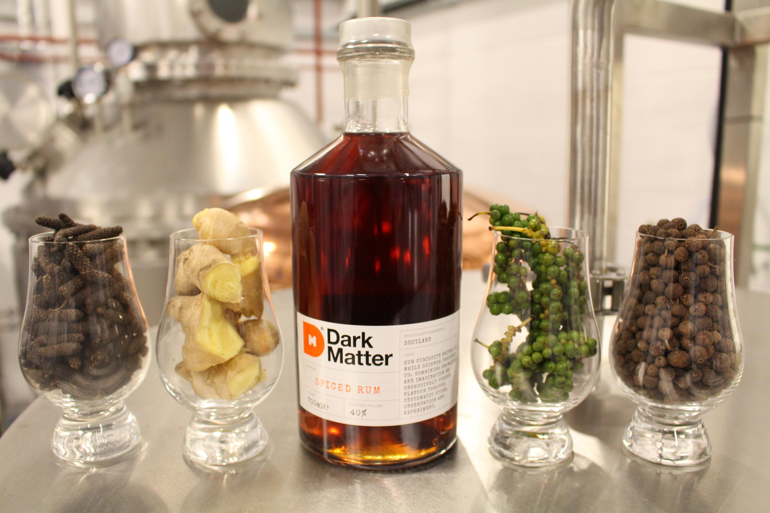 Dark Matter Rum is produced on Deeside
