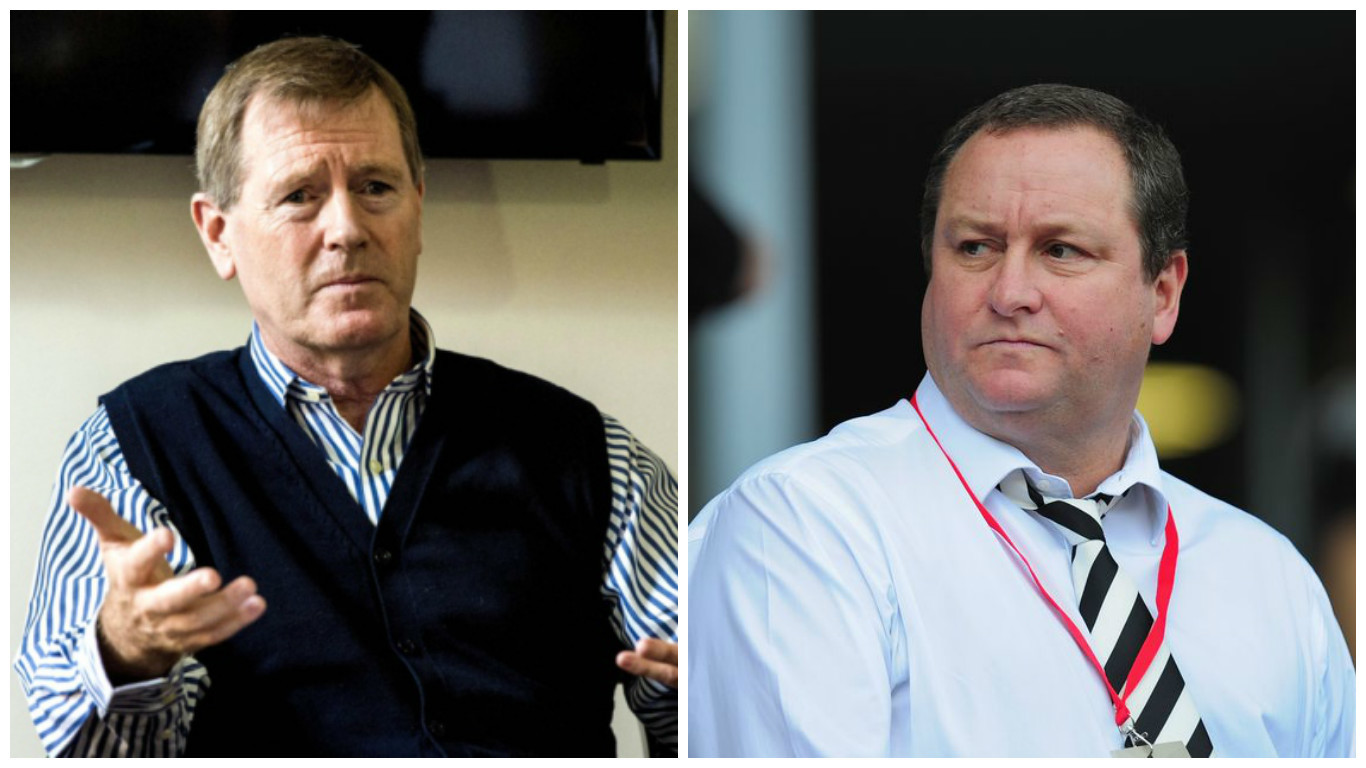 Dave King and Mike Ashley are in a long running dispute