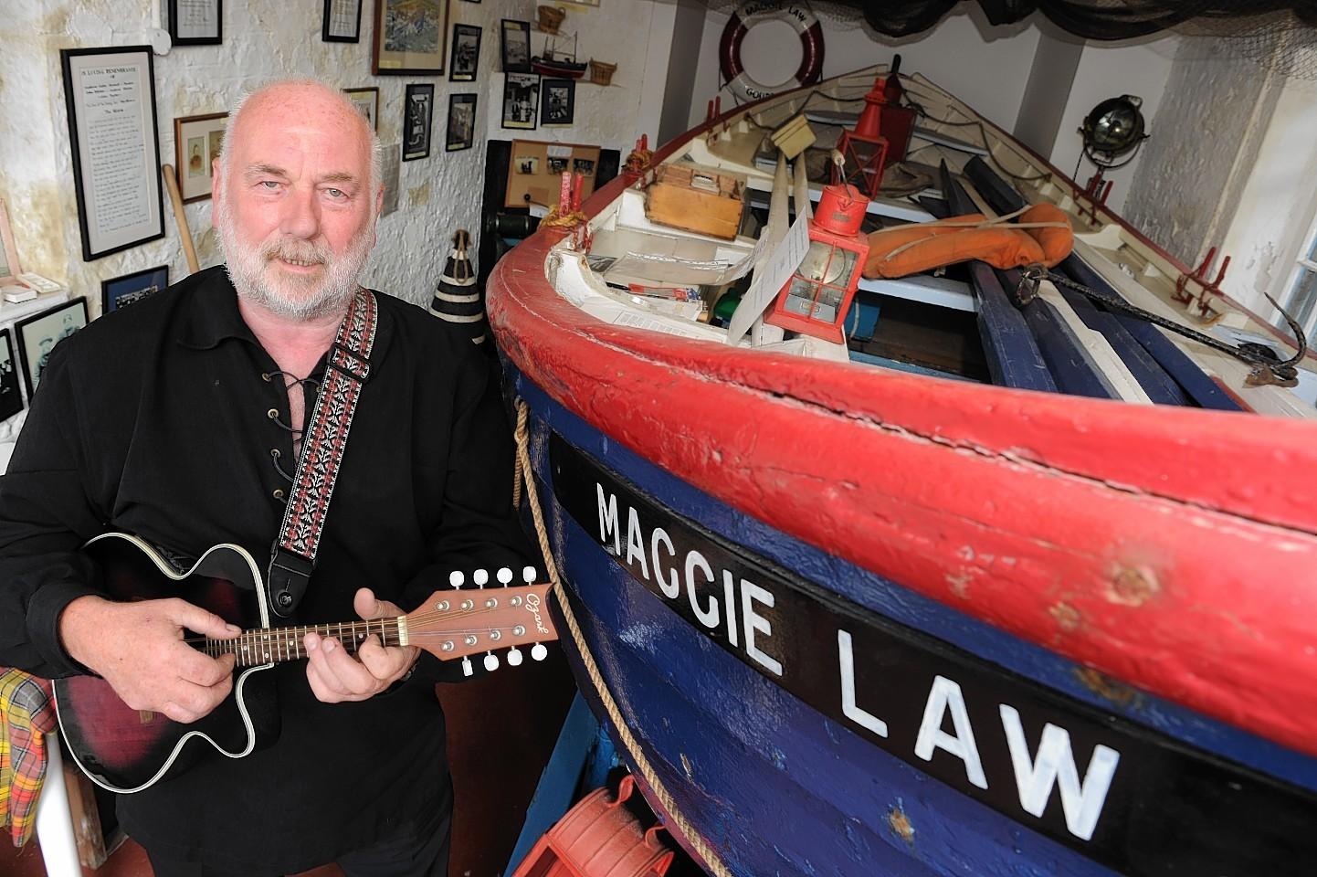 Dave Ramsay of the Maggie Law Maritime Museum