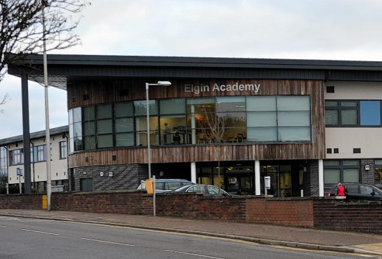 Elgin Academy. Picture by Gordon Lennox