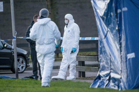 Investigations underway at the scene