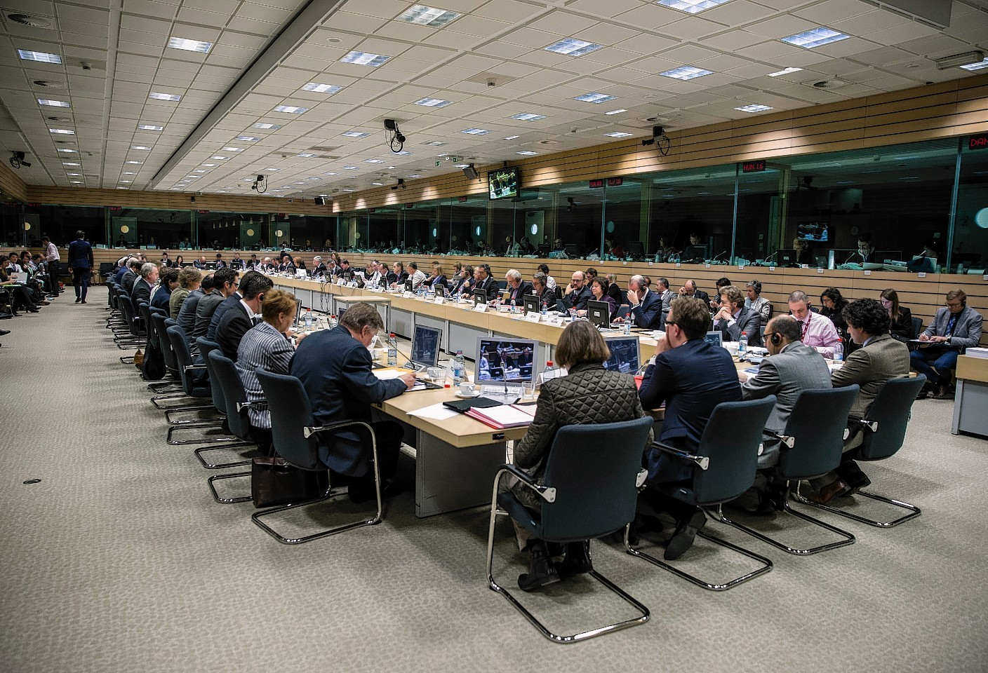 The discussions in Brussels
