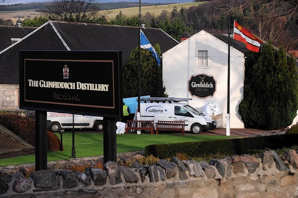 Glenfiddich Distillery, Dufftown