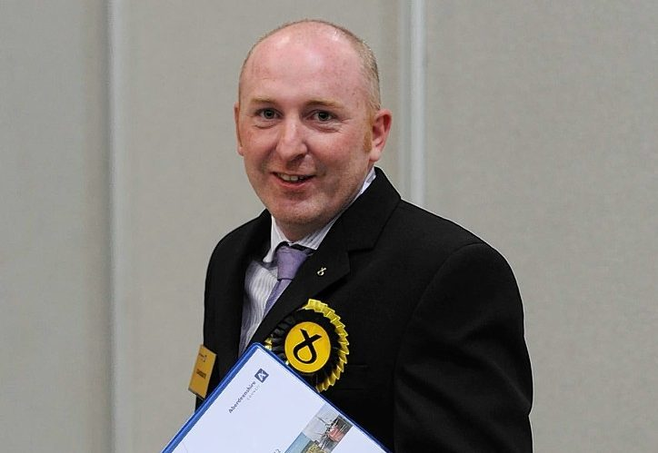 Hamish Partridge was formerly a member of the SNP