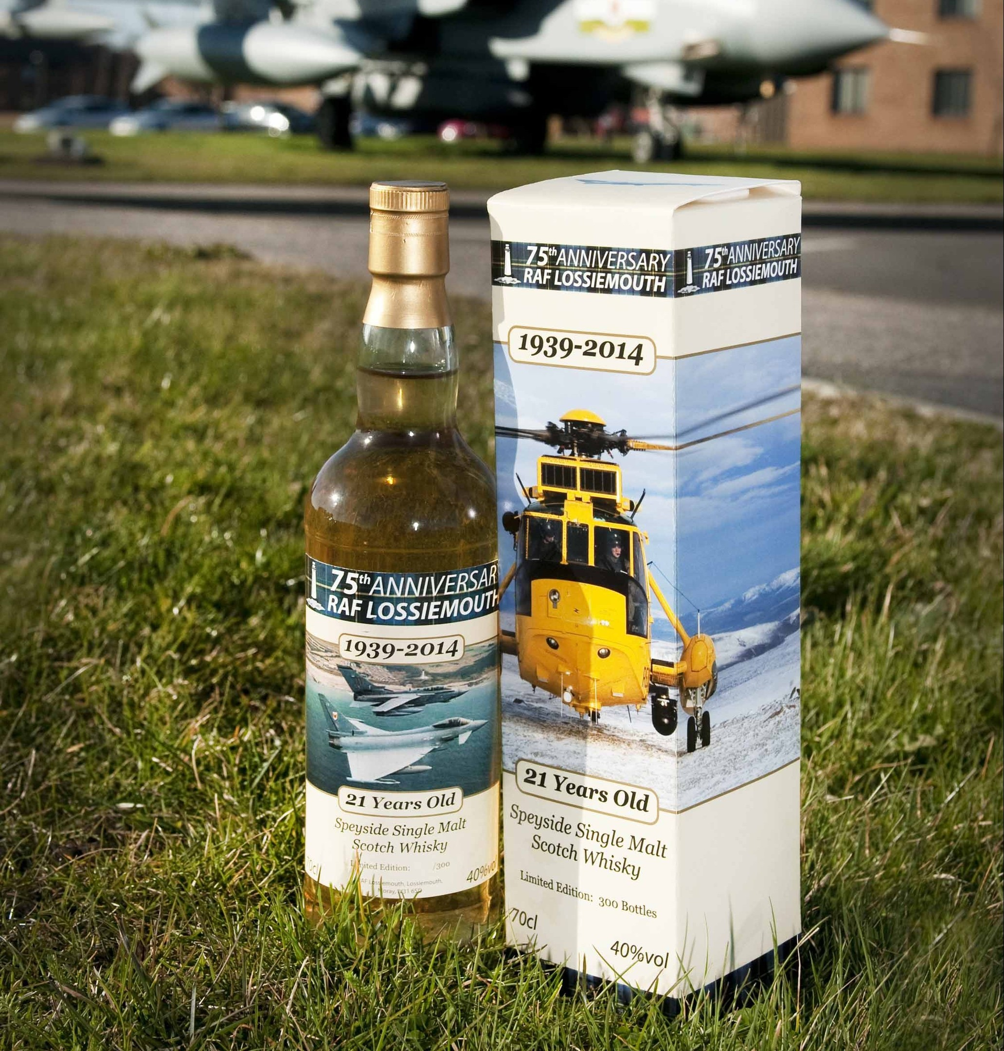 The 75th Anniversary RAF Lossiemouth Whisky