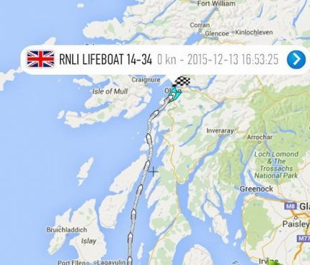 The Willie and May Gall is making a mammoth journey.