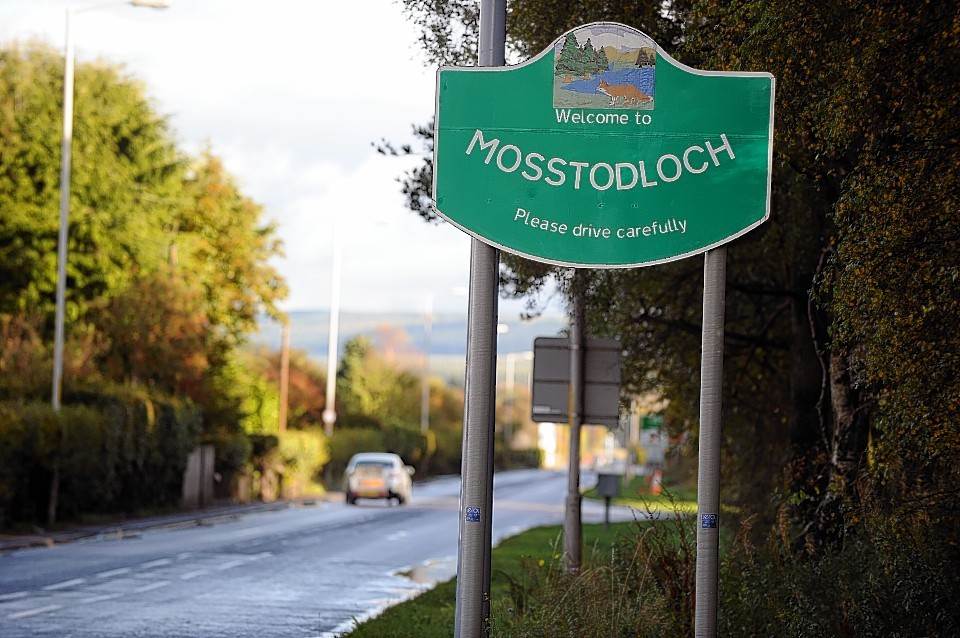 The incident happened in Mosstodloch.Picture by Gordon Lennox