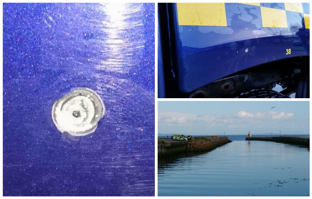 Nairn Coastguard claim they were shot at