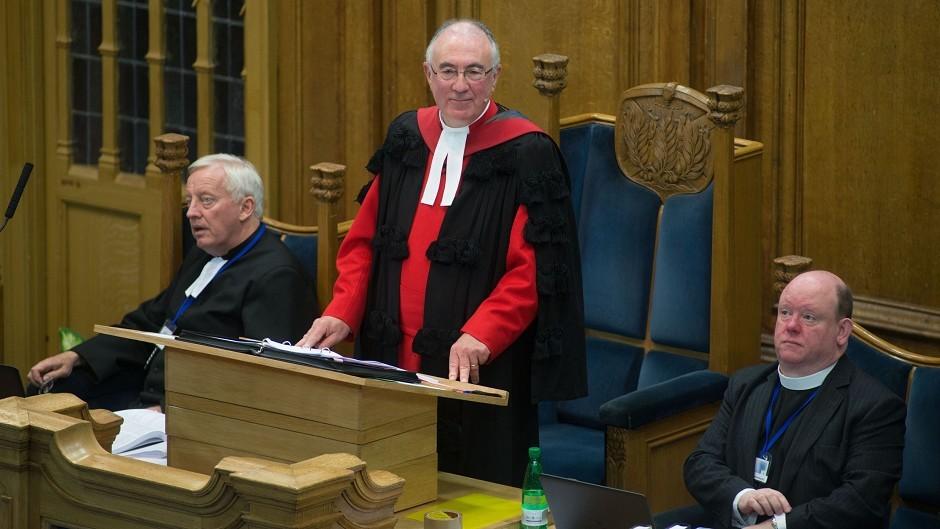 Right Reverend Dr Angus Morrison