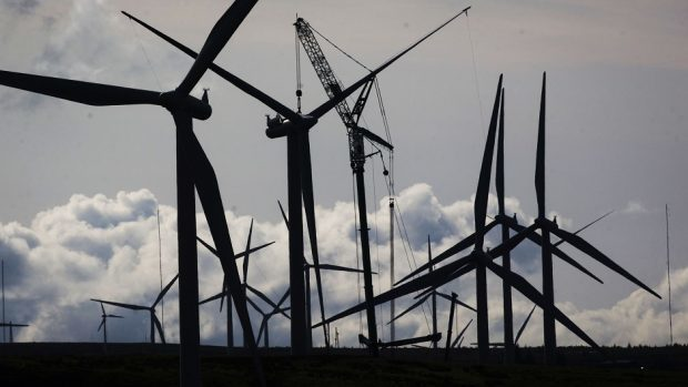 Views are being sought about a windfarm plan for Yell.