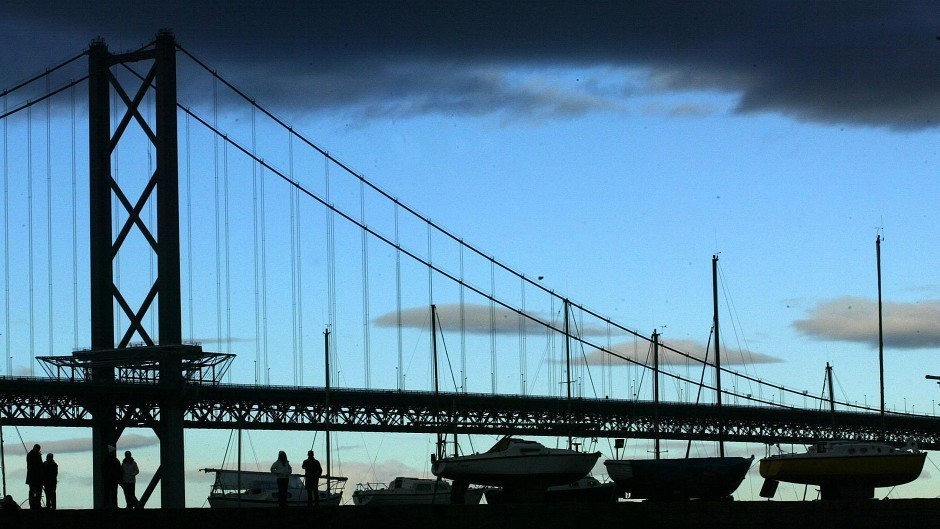 The Forth Road Bridge is closed until 2016