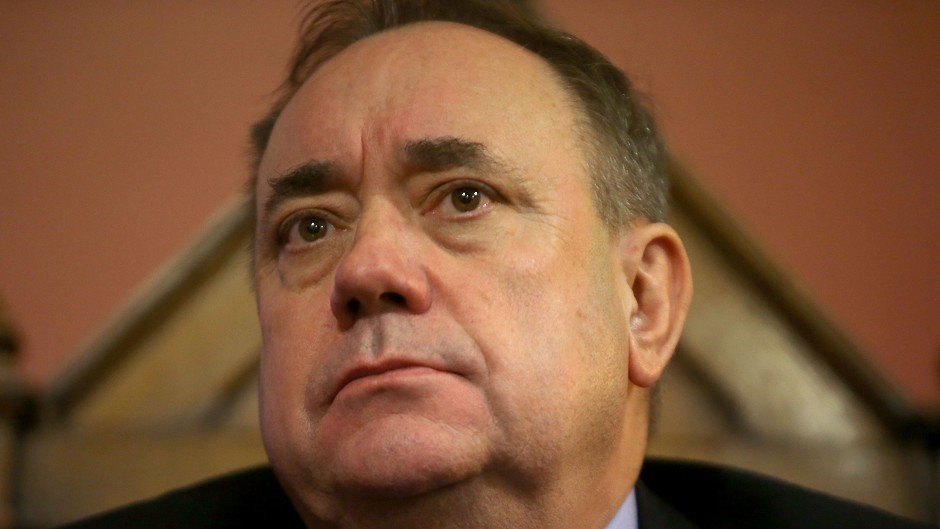 Alex Salmond has held his frist radio show call-in on LBC