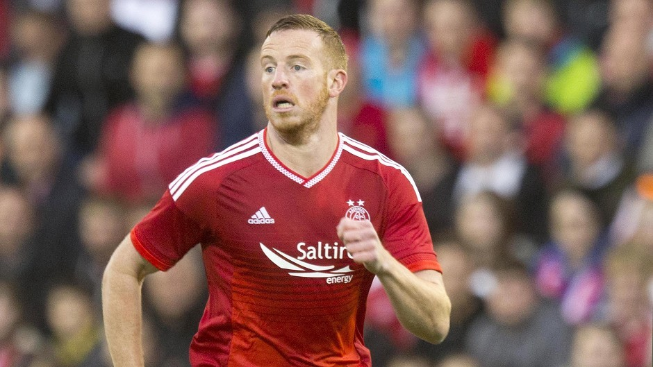 Aberdeen's Adam Rooney was on the scoresheet in a win at Dundee
