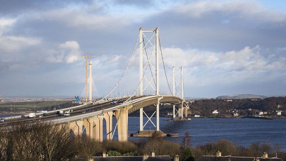 The Forth Road Bridge