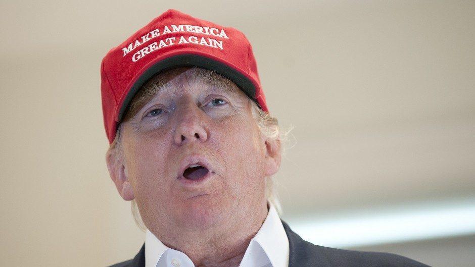 US presidential hopeful Donald Trump