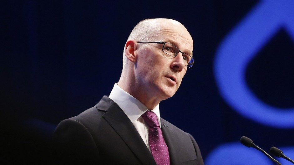 John Swinney will unveil his Budget for the 2016-17 financial year