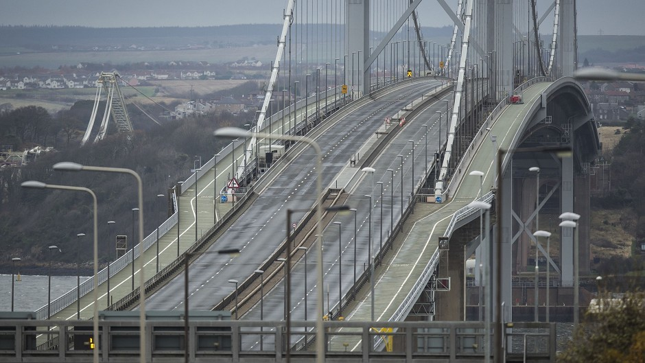 The Forth Road Bridge has been closed since a fault was discovered