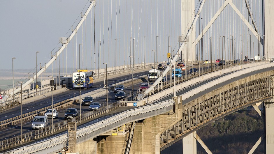 The Forth Road Bridge has been closed due to high winds