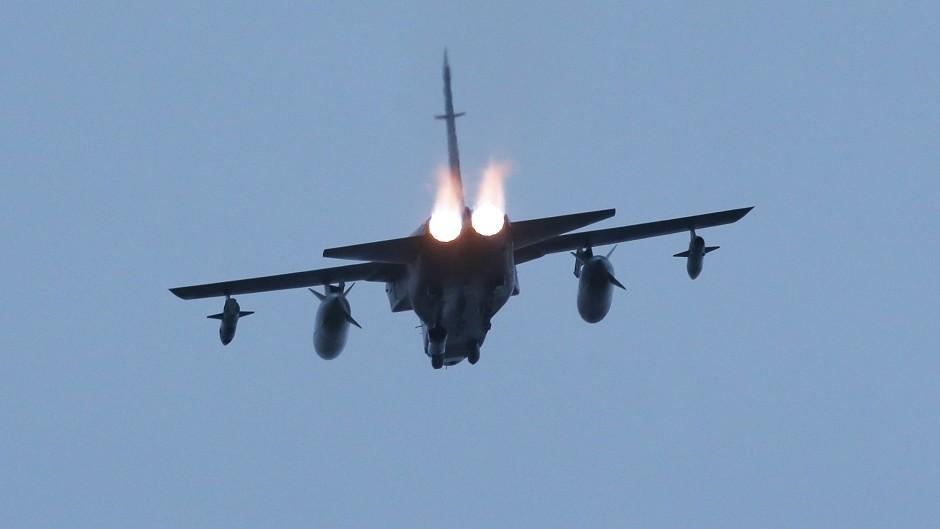 RAF Typhoon fighters