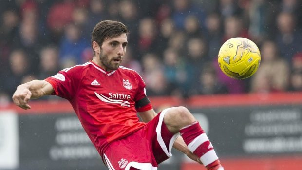 Graeme Shinnie: Captained Aberdeen to victory over Celtic midweek.