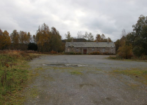 The old Highland rail station has fallen into disrepair