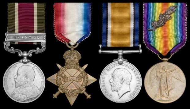 Cook-Young's medals