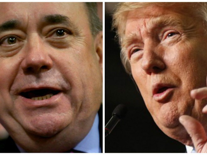 Alex Salmond and Donald Trump