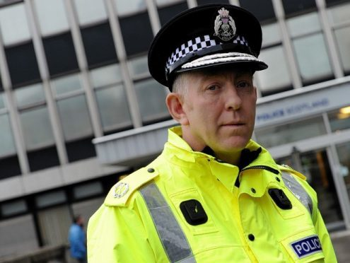 Chief Superintendent Campbell Thomson pictured last year. (PICTURE: Kami Thomson)