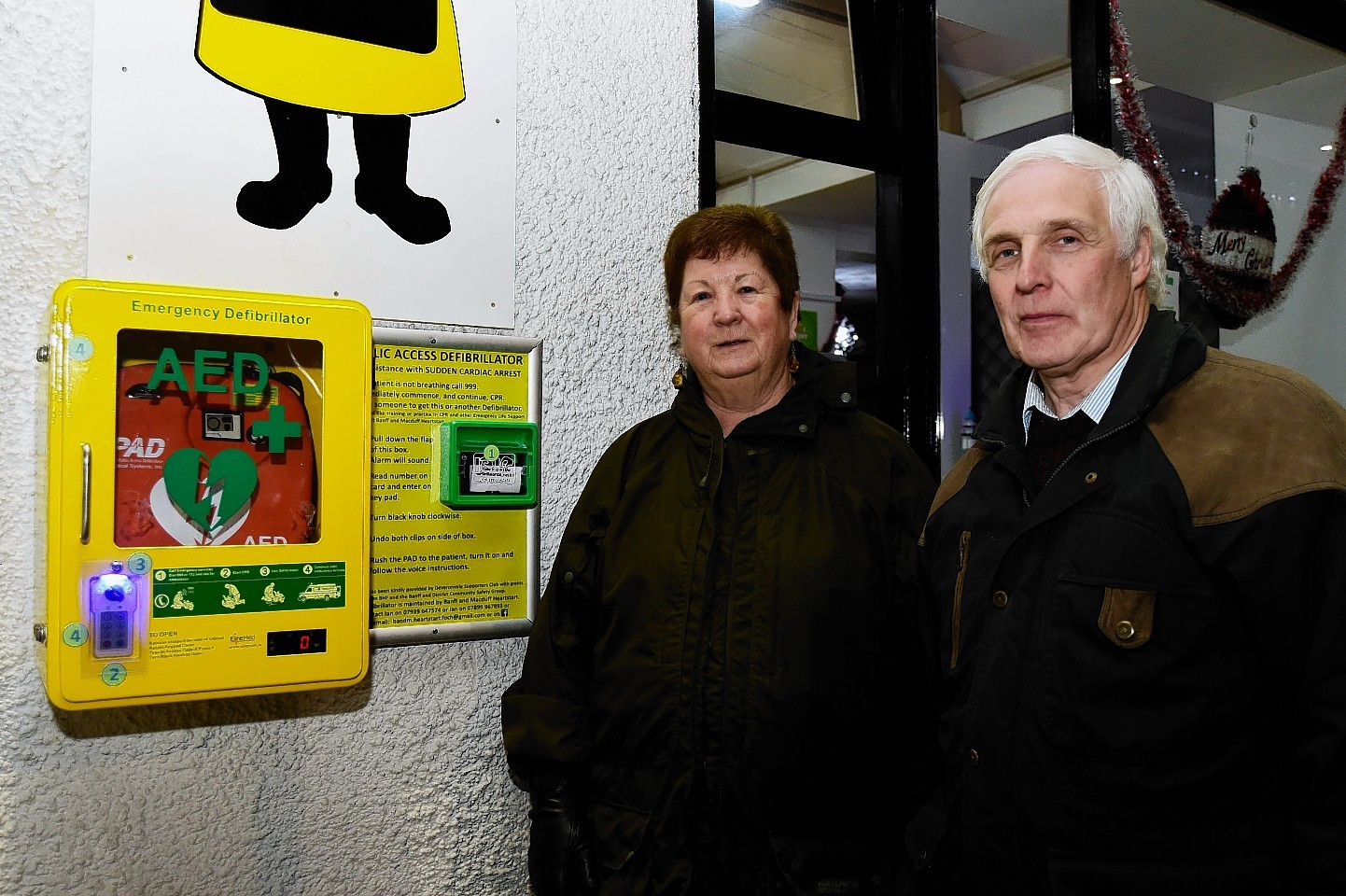 Ian Williams and a public access defib.