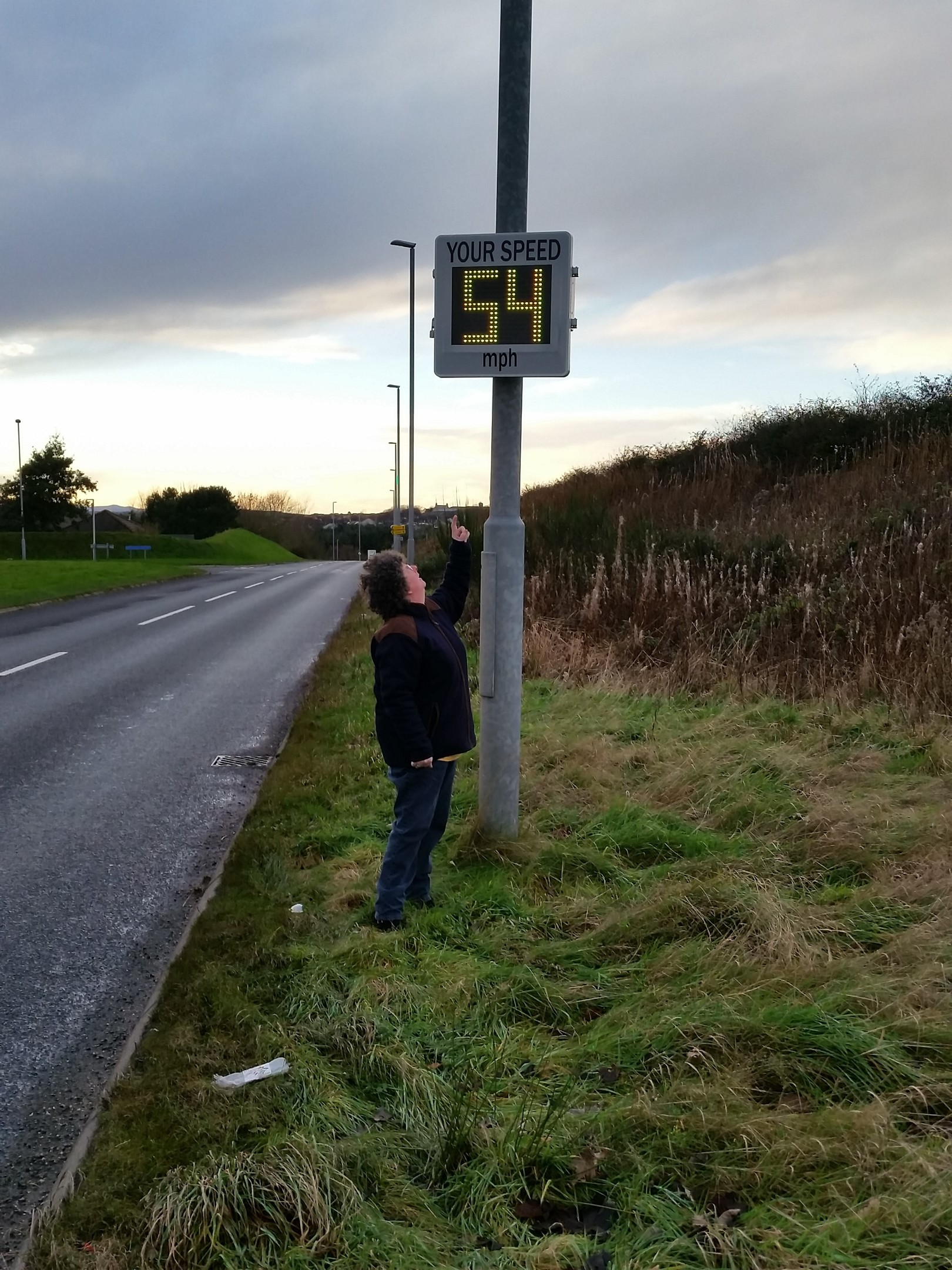Gillian Owen is calling for re-think on the speed limit