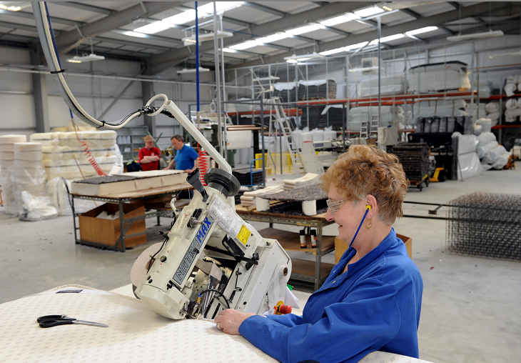 Glencraft employs blind and visually impaired people