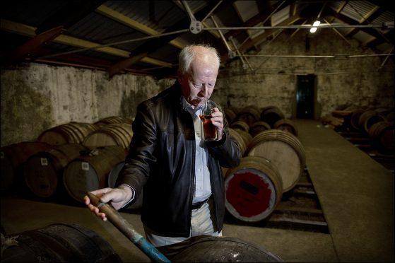 Billy Walker, master blender at Glenglassaugh Distillery.