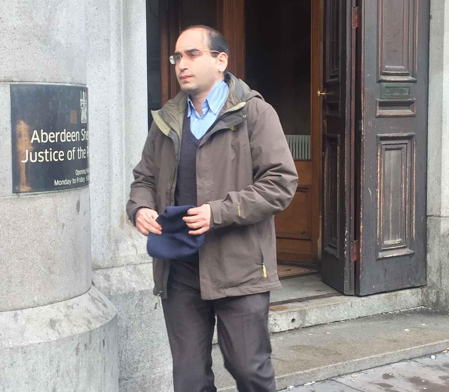 Ramyar Chavoshinejad was cleared of stalking Aberdeen University researcher Dr Ruth Banks