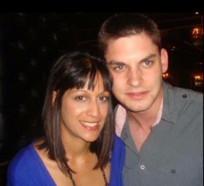 Sofia Murray and her husband Mark