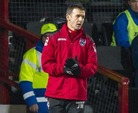 Jim McIntyre's side take on Aberdeen at Victoria Park this weekend.